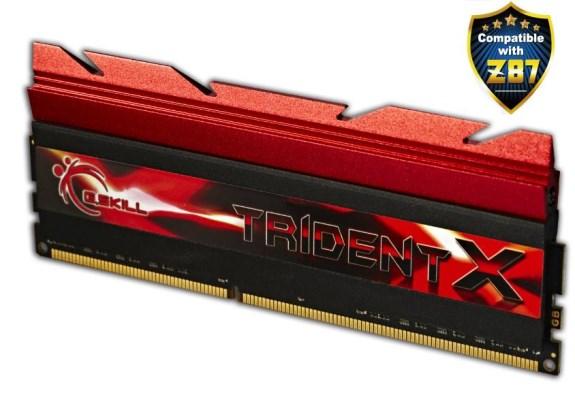 G.Skill Trident 3000MHz DDR3