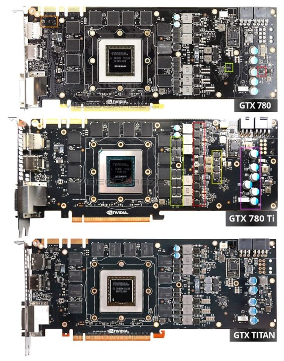 NVIDIA GeForce GTX 780 Ti PCB
