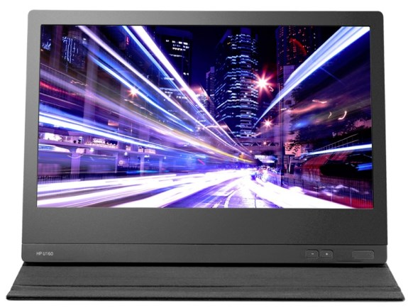 HP U160 USB screen