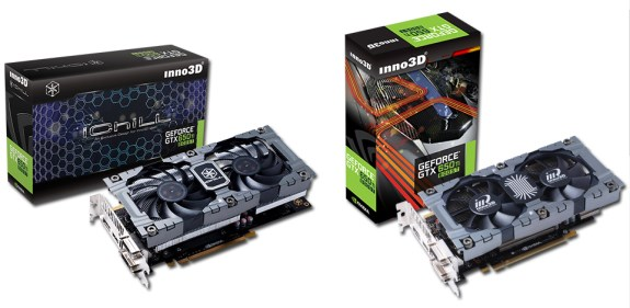 GeForce GTX 650 Ti Boost from Inno3D