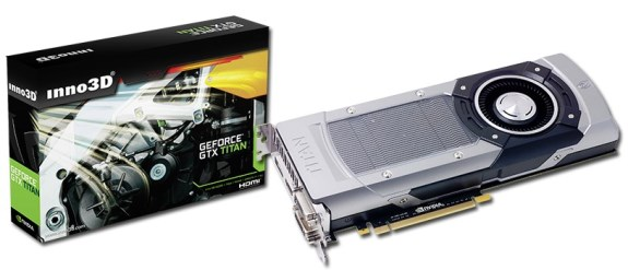 Inno3D GeForce GTX Titan