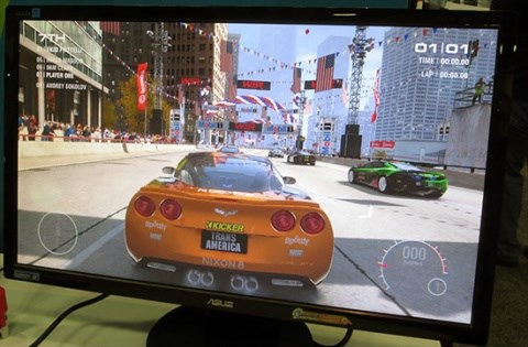 Intel Haswell running GRID 2 at GDC