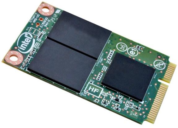 Intel SSD 525 series mSATA