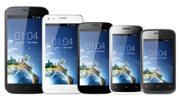 Kazam smartphones