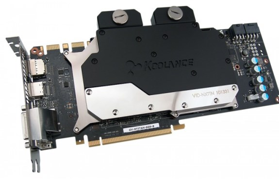 Koolance VID-NXTTN waterblock for GTX Titan