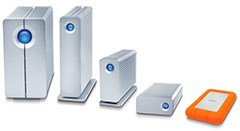 LaCie Thunderbolt products