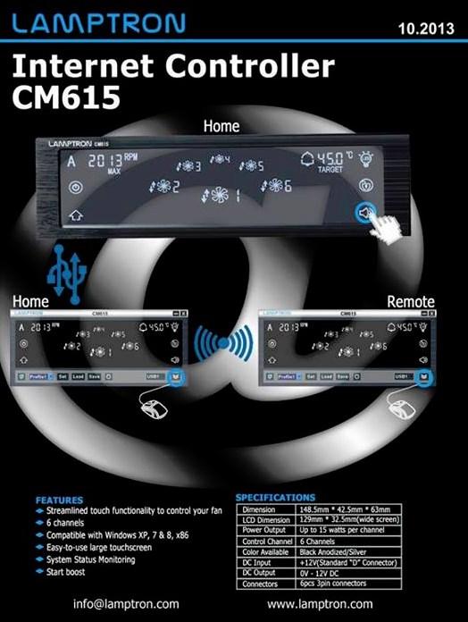 Lamptron CM615