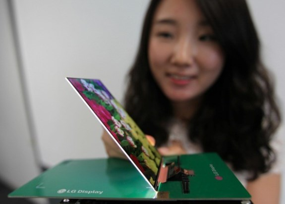 LG thin 1080p screen for smartphones