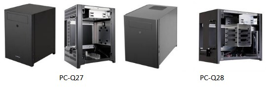 Lian Li PC-Q27 and PC-Q28