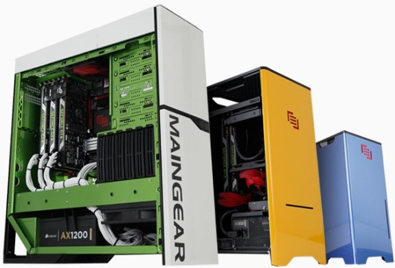 Maingear PCs with GeForce GTX Titan
