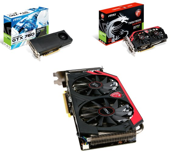 MSI GeForce GTX 760 series