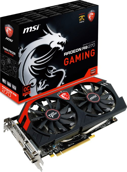 MSI R9 270 graphics card