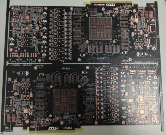 MSI Radeon R9 290X Lightning PCB