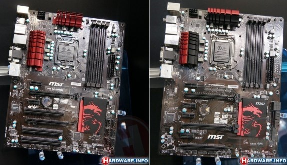 MSI Z77A-G43 Gaming and MSI Z77A-G45 Gaming