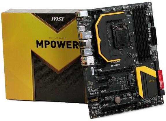 MSI Z87 MPower motherboard