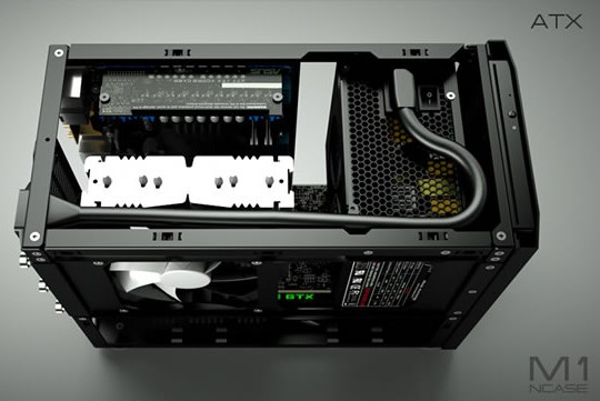 Ncase M1 A Crowdfunded Mini Itx Case