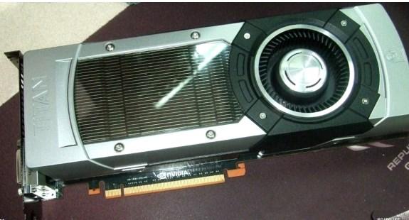 NVIDIA GeForce Titan photo leak