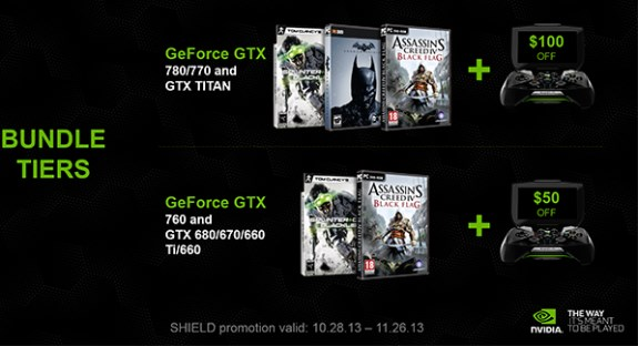 NVIDIA game bundles