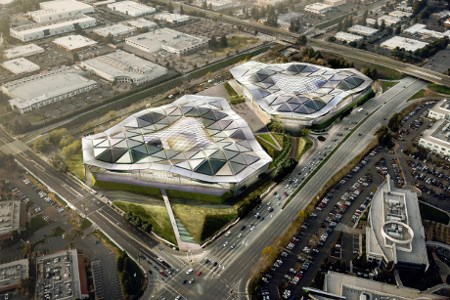NVIDIA new  HQ from 2013