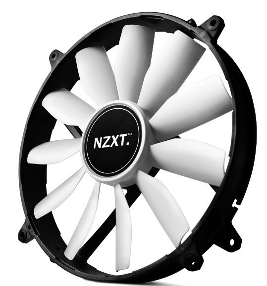 NZXT FZ-200 non-LED 200mm fan