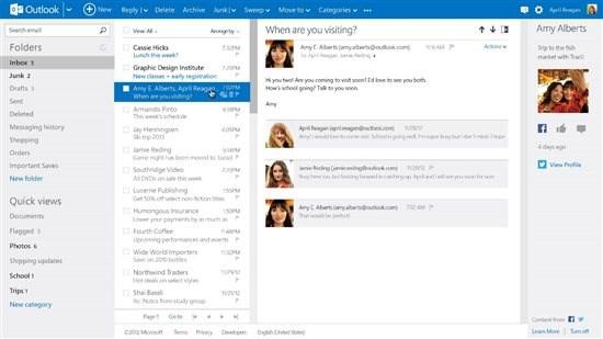 Outlook.com service