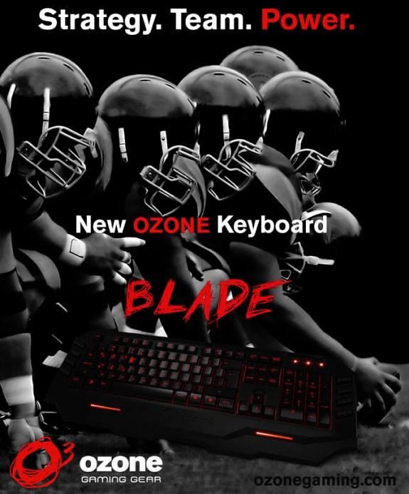 Ozone Blade gaming keyboard