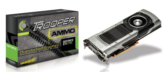 Point of View GeForce GTX 780 Trooper Ammo