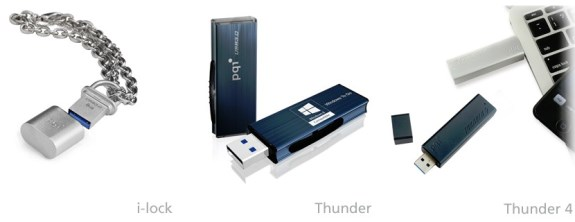 PQI USB 3.0 flash drives at CES