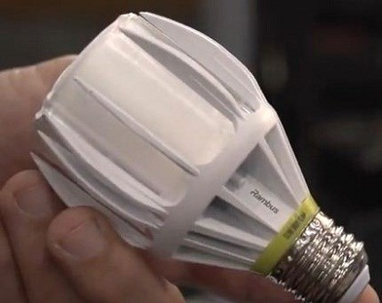 Rambus reveals LED bulb at CES