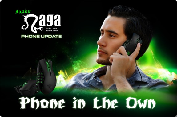Razer Naga Phone joke