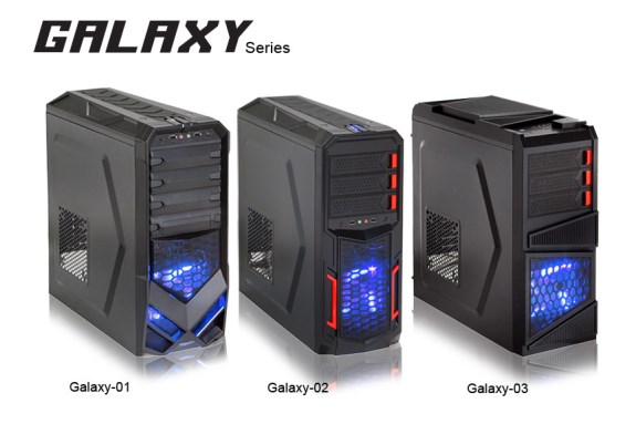 Rosewill Galaxy cases
