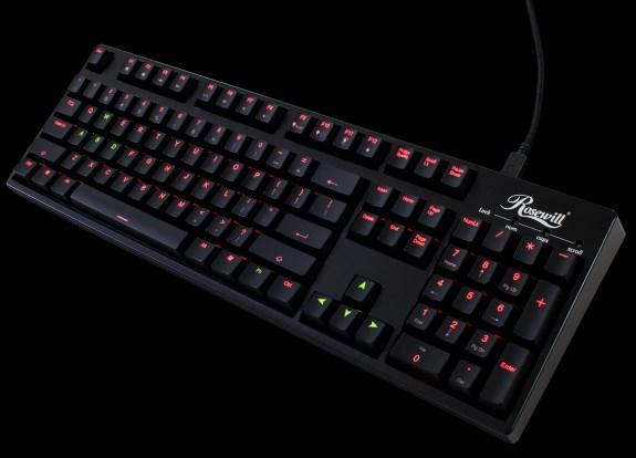Rosewill RK 9200 keyboard