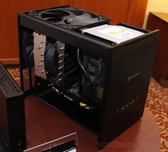 SilverStone Sugo SG10 Micro-ATX gaming case shown