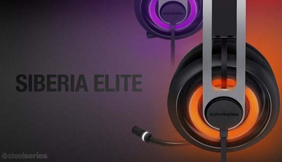 Siberia Elite headset from Steelseries