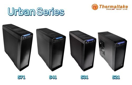 ThermalTake Urban case series