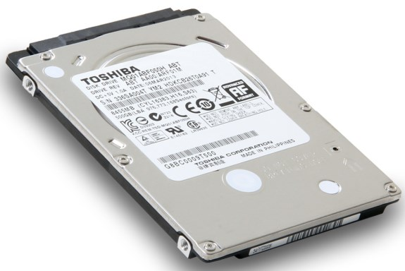 Toshiba 7mm solid state hybrid drives