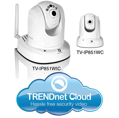 Trendnet CES 2013 new IP cameras