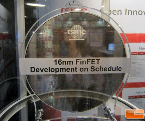 By the end of the year, TSMC also expects to start sampling its 16nm