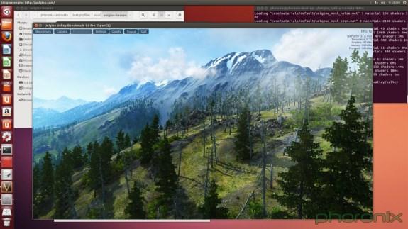 Unigine Valley screenshot