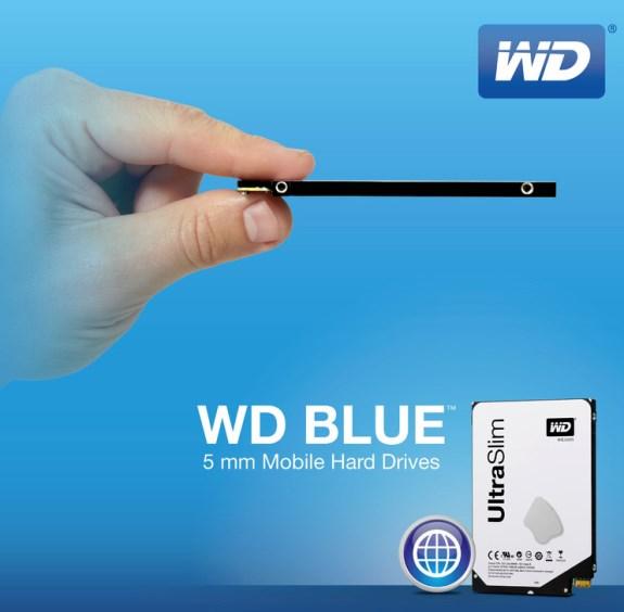 WD Blue 5mm HDD