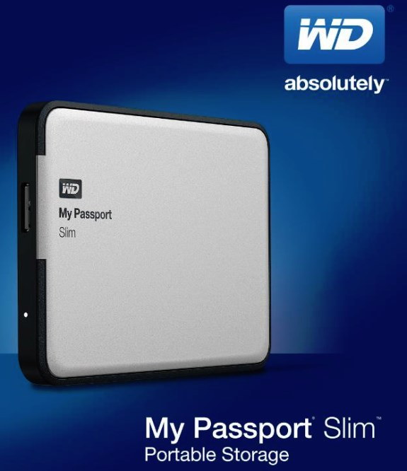 WD My Passport Slim 2TB