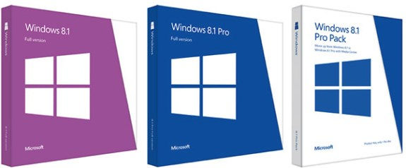 Windows 8.1 packages