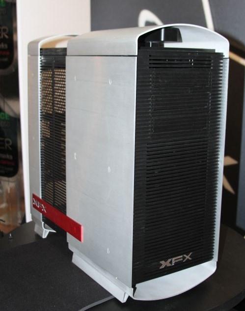 XFX aluminium case