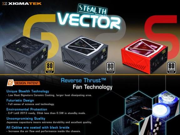 Xigmatek Vector PSUs