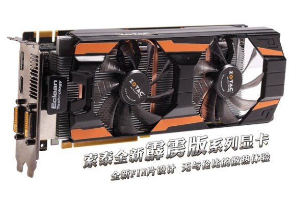 Zotac GeForce GTX 660 Thunderbolt card