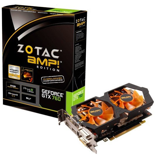 Zotac GeForce GTX 760 AMP Edition