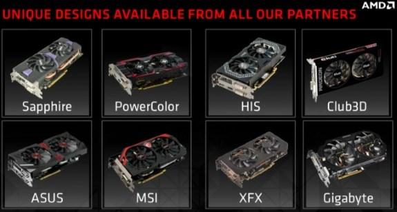 AMD Radeon R9 285 models