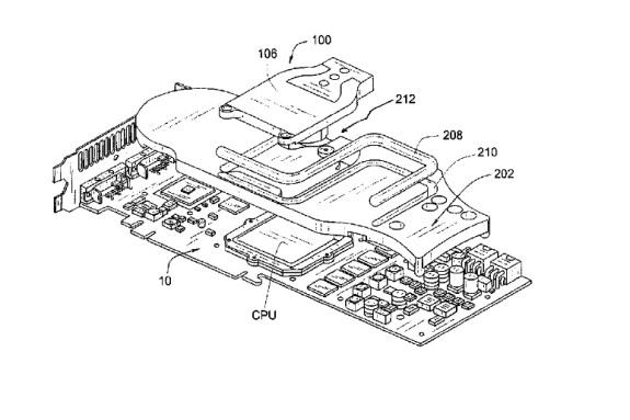 Asetek watercooling GPU patent