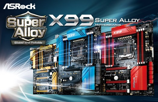 ASRock Super Alloy X99 Series Motherboards