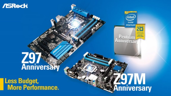 ASRock Z97 Anniversary editions